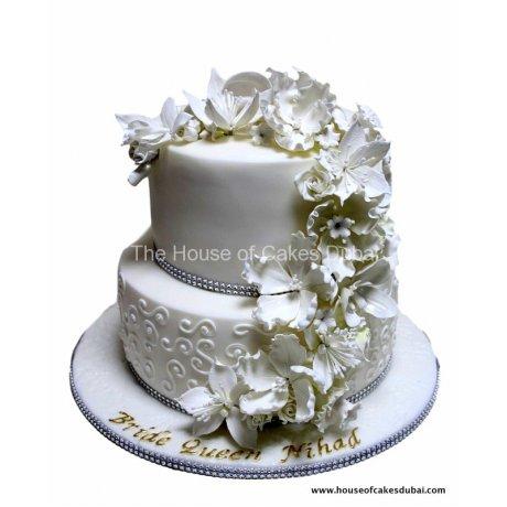 Amazing flowers cake 3