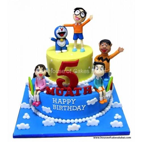 doraemon cake 1 7