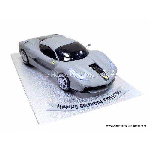 Ferrari cake 4