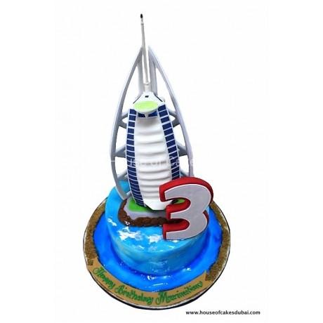 burj al arab cake 4 6