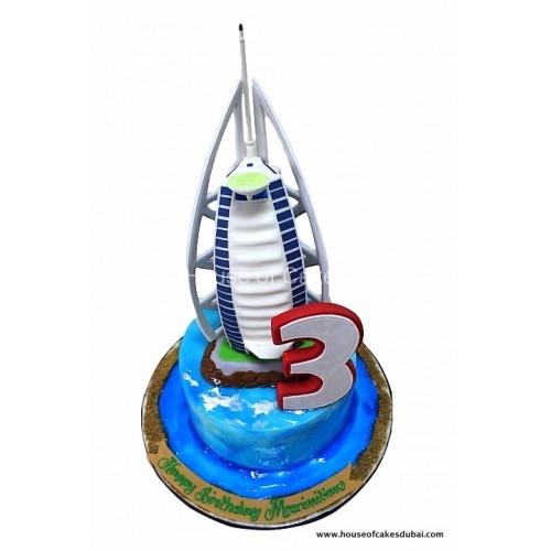 burj al arab cake 4 7