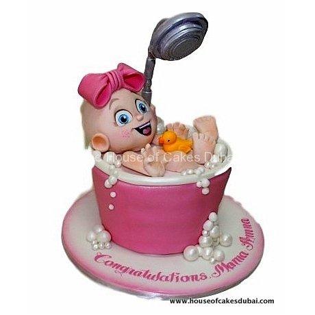Baby shower cake 25