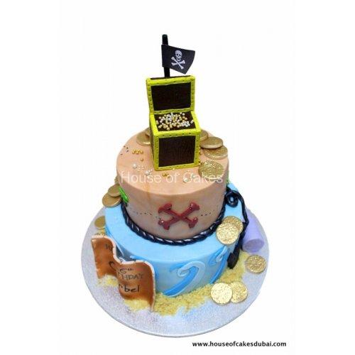 Pirate cake 16