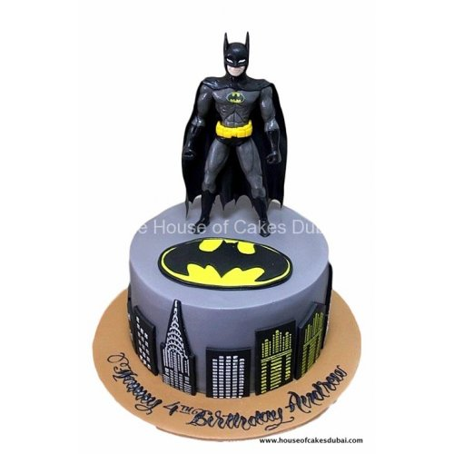 batman cake 5 7