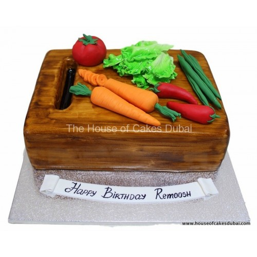 cake with vegetables 7