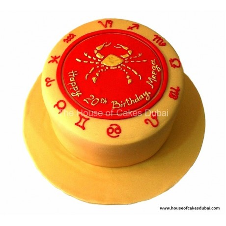 cancer zodiac cake 12