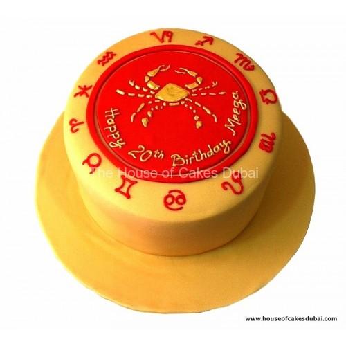 cancer zodiac cake 13