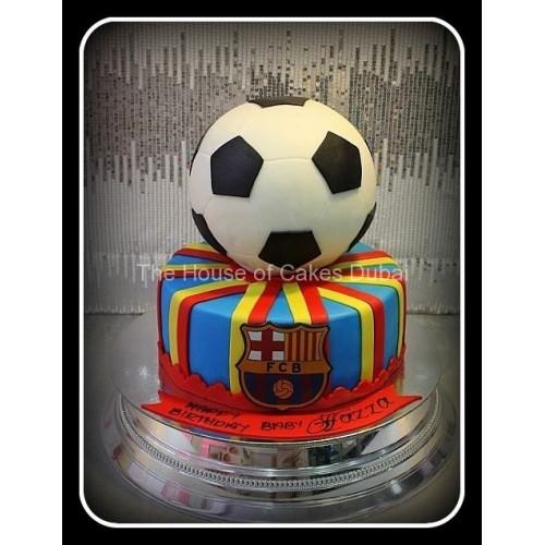 Barcelona cake 16
