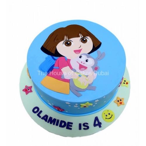Dora The Explorer Cake 18