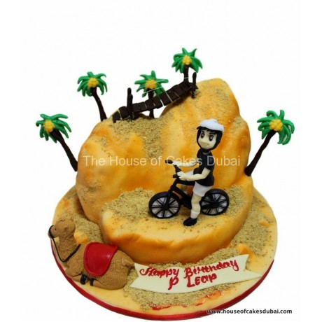 biking and desert cake 6