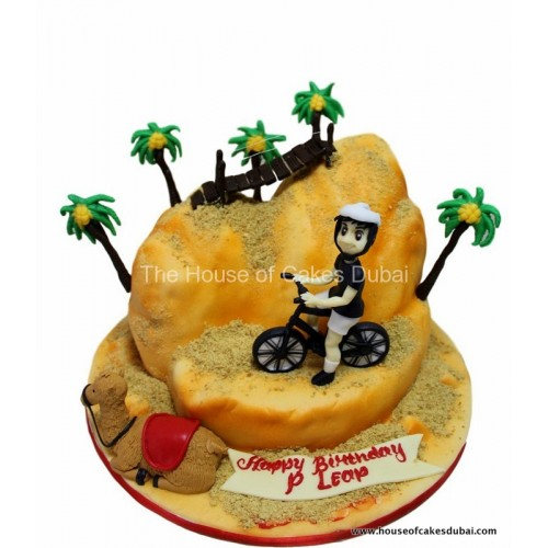 biking and desert cake 7