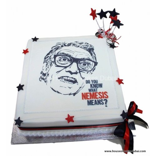 cake with printed image 7