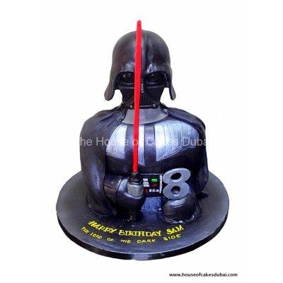 Dart Vader Cake 4