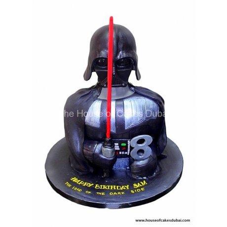 dart vader cake 4 6