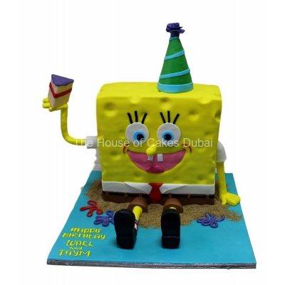 Sponge Bob Cake 10