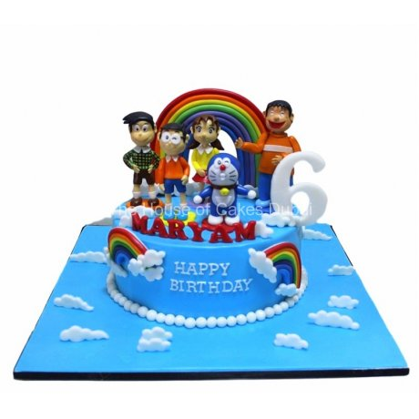 Doraemon Cake 2