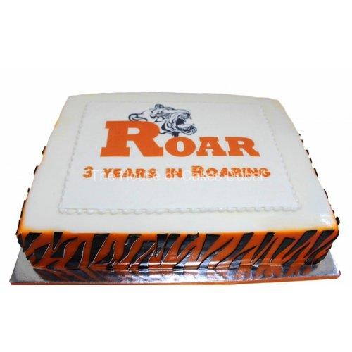 Roar cake