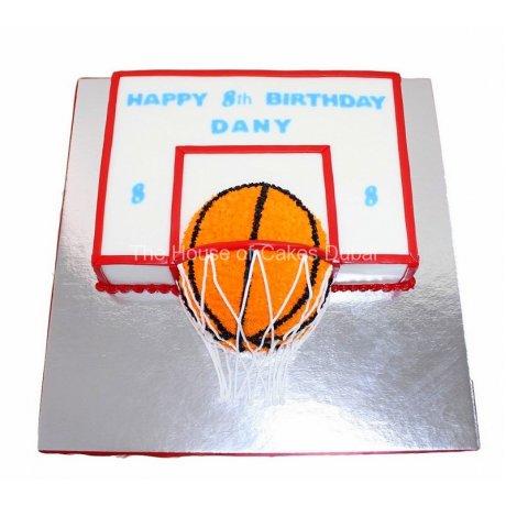 Basketball cake 2