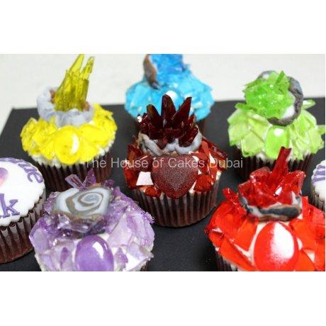 gemstones cupcakes 13
