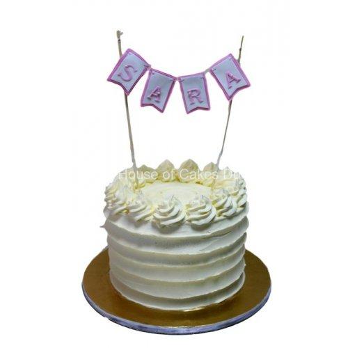 Cream Cake Sara