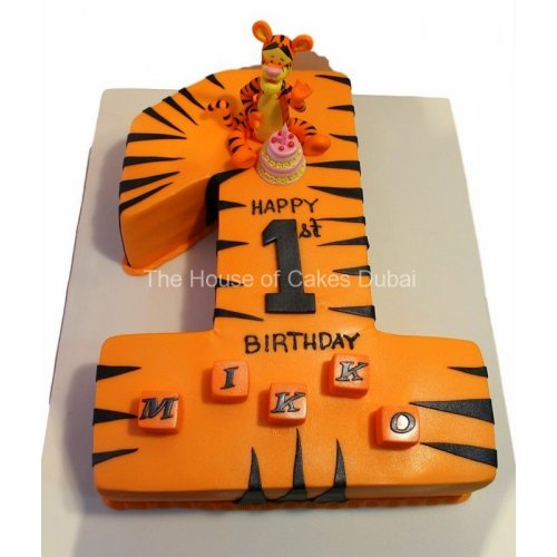 first birthday cake tigger 9
