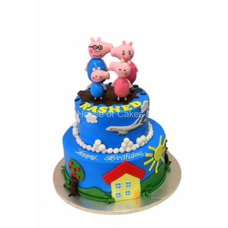 peppa pig cake 6 6