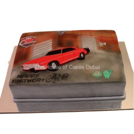 csr racing car cake 6