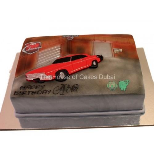 csr racing car cake 7