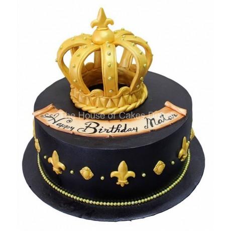 crown cake 24 6