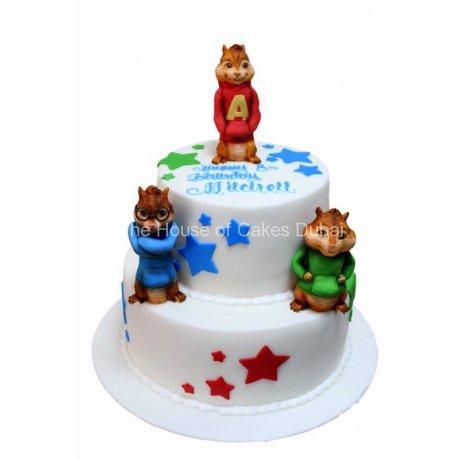 chipmunks cake 2 6