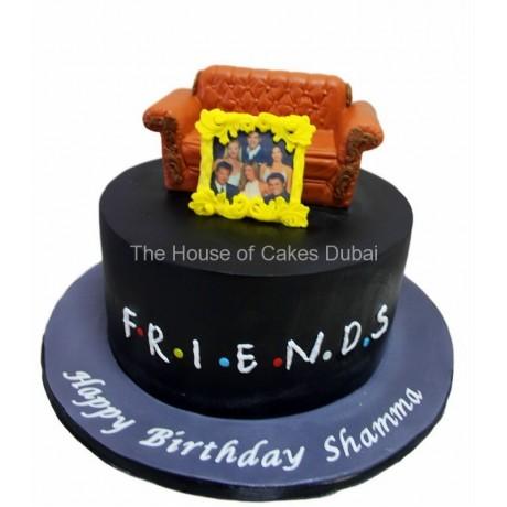 Friends cake 4