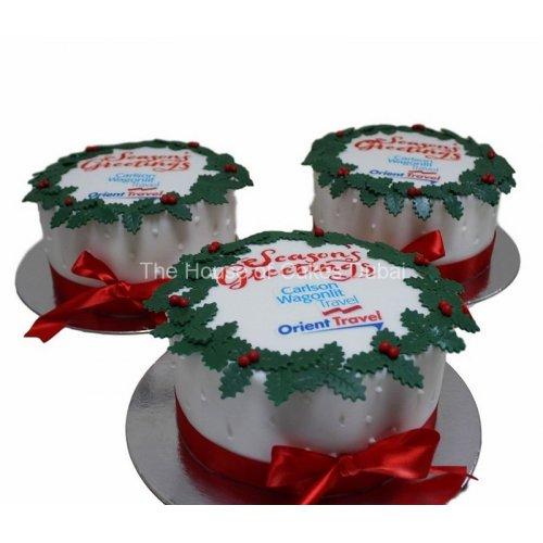 Christmas corporate cakes 2