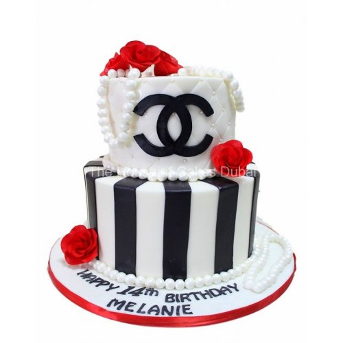 Chanel cake 8