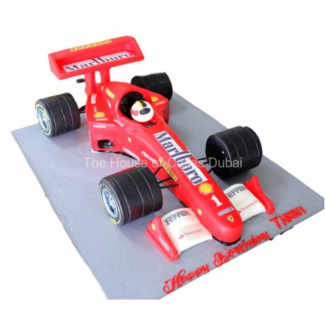 ferrari racing car cake 6