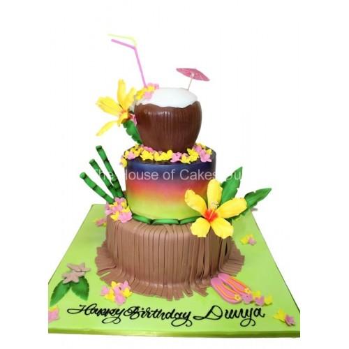 exotic hawaiian cake 7