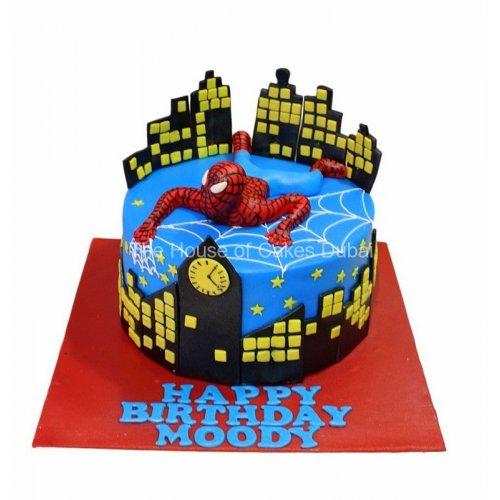Spiderman cake 19