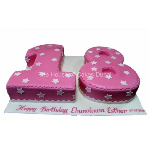 Enjoyable 18Th Birthday Cake 3 Personalised Birthday Cards Veneteletsinfo