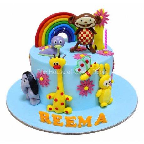 baby tv cake 3 6