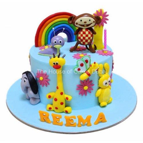 baby tv cake 3 7