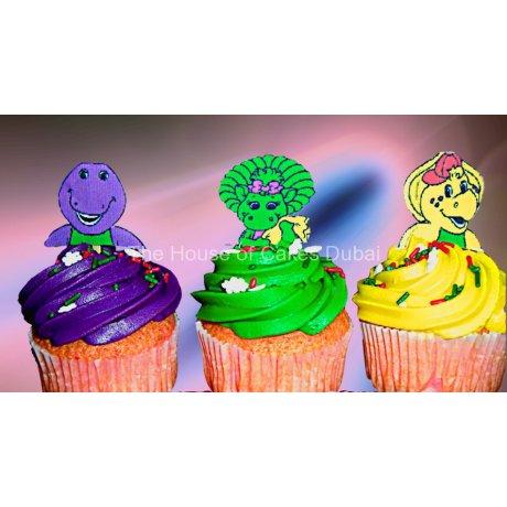 barney cupcakes 2 7