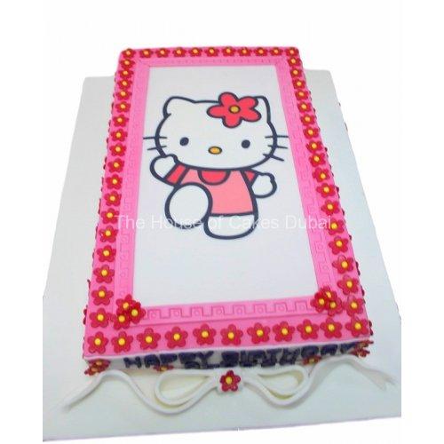 Hello Kitty Cake 29