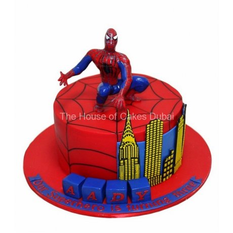spiderman cake 18 6