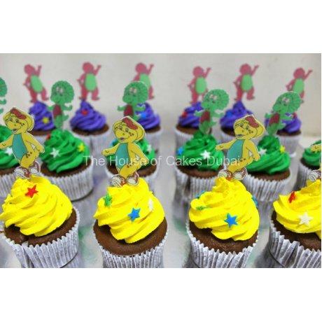 barney cupcakes 2 8