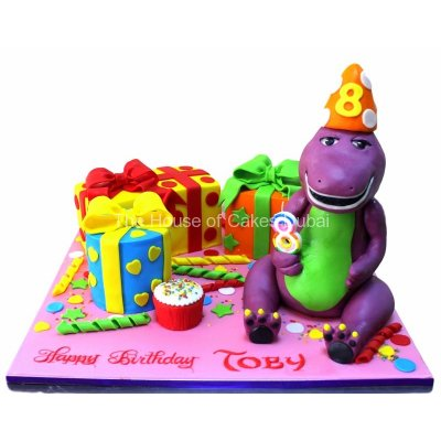 Barney cake 24