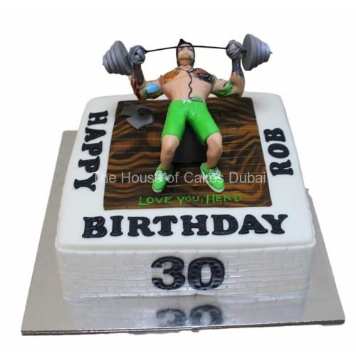 fitness cake 5 7