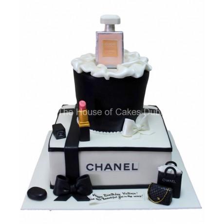 Chanel cake 7