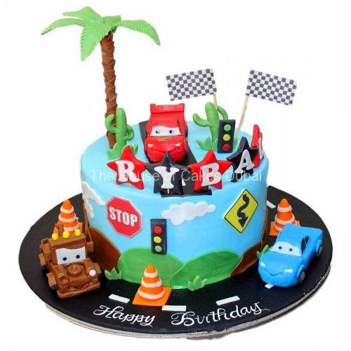 Disney cars cake 9