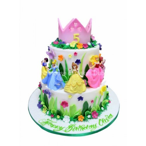 Disney Princesses cake 7