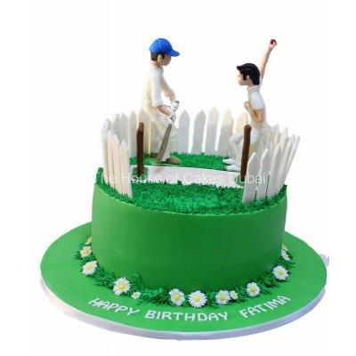 Cricket cake 4