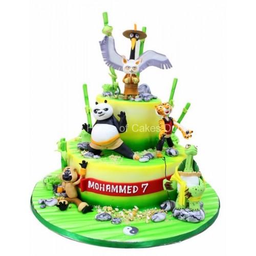 Astounding Kung Fu Panda Cake 3 Funny Birthday Cards Online Alyptdamsfinfo